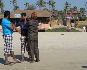 Goa - Inde - Nettoyeur d'oreille