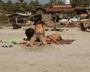 Free massage à Goa