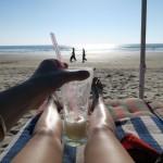 Sea, drink and sun à Goa