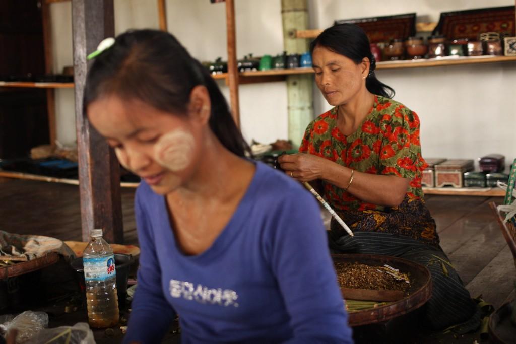Lac Inle Birmanie cigares