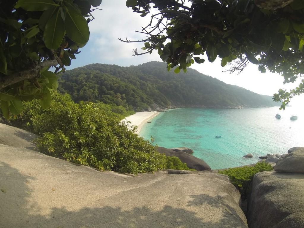 Plage, similans islands