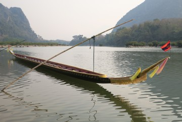 Barque à Muang Ngoi