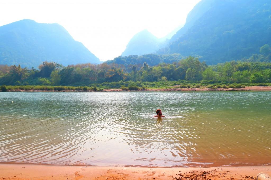 Rivière nam ou laos