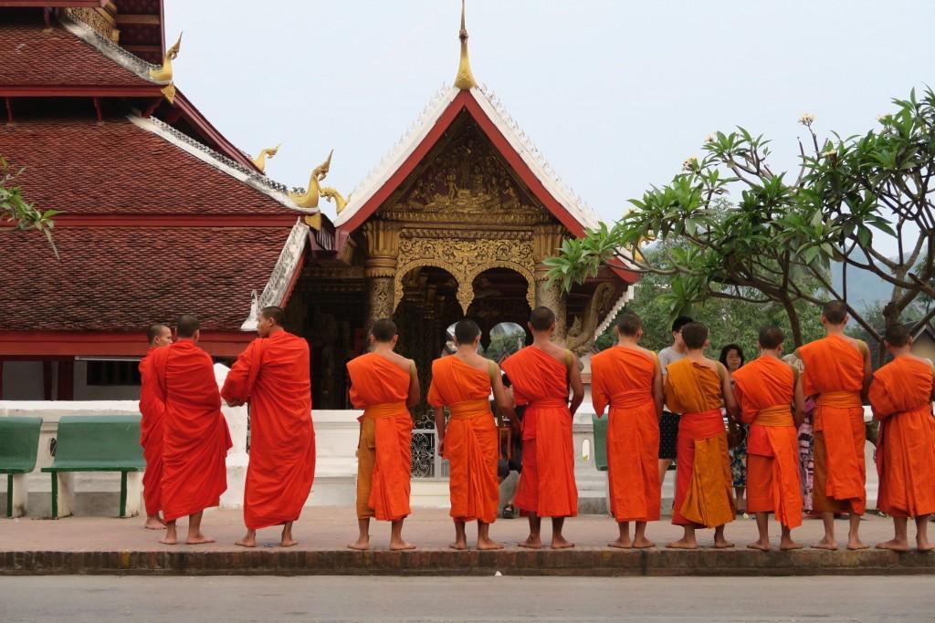 moine Luang Prabang Laos